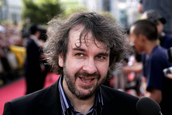 Peter Jackson at the King Kong premiere in Wellington in 2006.
