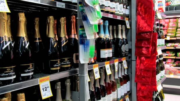 CHRISTMAS BOOZE: Countdown will not be allowed to sell alcohol from Sunday, December 7 to Friday, December 12.