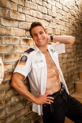 Hunks in uniform