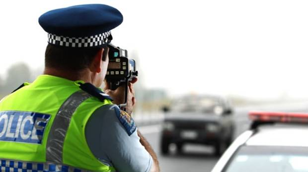 Police caught a man driving at 176kmh in a 100kmh zone on the Waikato Expressway.