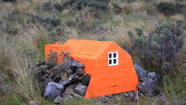 Robin Hut: Nestled near Red Rocks is a memorial hut for Robin Buxton, Kemi Whitwall's uncle, who died in an avalanche ...