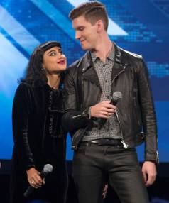 Former X Factor judges, Kiwi Willy Moon and his wife Natalia Kills