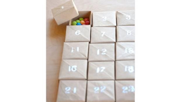 Diy Calendar Nz : Diy advent calendars for the home stuff nz