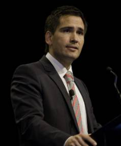 NZ COULD TAKE THE LEAD: Transport Minister Simon Bridges said driverless cars would be able to travel safely at higher ...