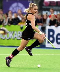 MEMORABLE RESULT: Black Sticks captain Anita Punt was proud of her team-mates after a 1-1 draw with the world's No 1 ...