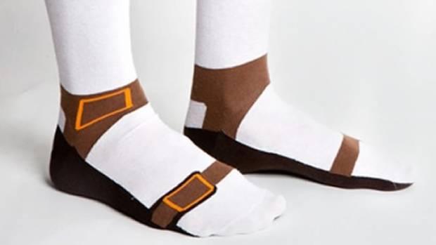 Fashion Faux Pas These Sandal Socks Make A Clic Stocking Filler Or Secret Santa