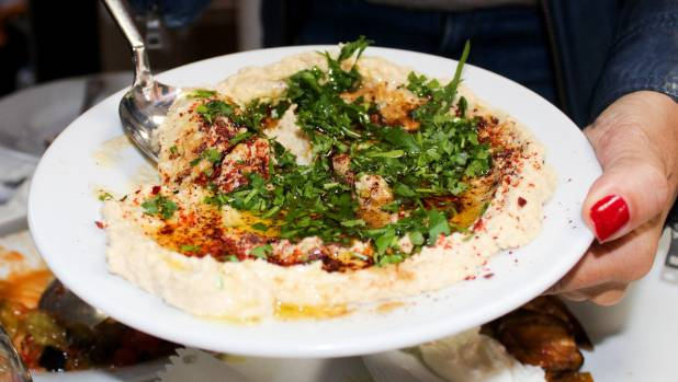 Hummus is probably as traditional a Christmas meal as you could get, right?