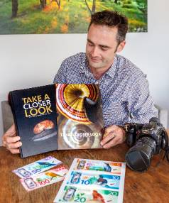 Wellington photographer Rob Suisted, whose work features on stamps and on the newly designed New Zealand banknotes.