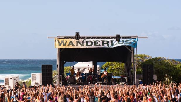HEALING PACKAGE: The Wanderlust festival is a mix of spiritual and party.