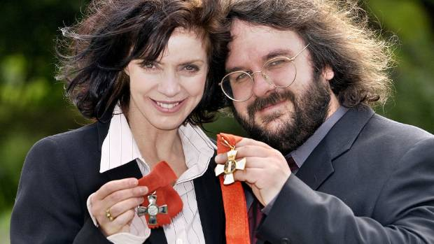 Fran Walsh and Peter Jackson in 2002.