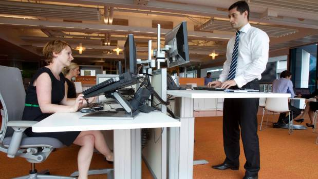 Standing at your desk can reduce mortality risk.