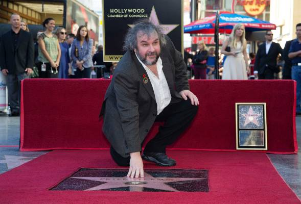 DREAM COME TRUE: Peter Jackson has been awarded a star on Hollywood Boulevard.