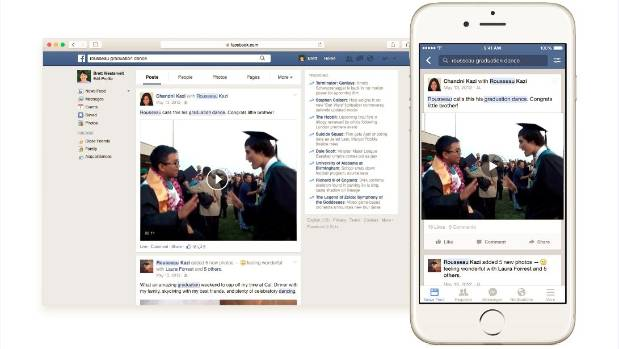 Facebook began rolling out a new search function on Tuesday.