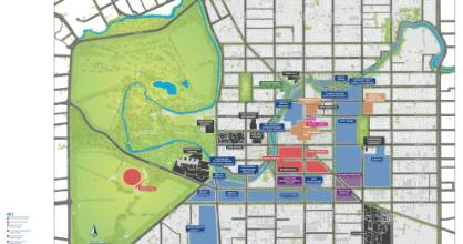 The blueprint compressed central Christchurch and sited 17 anchor projects. If it went to plan, all the anchor projects ...