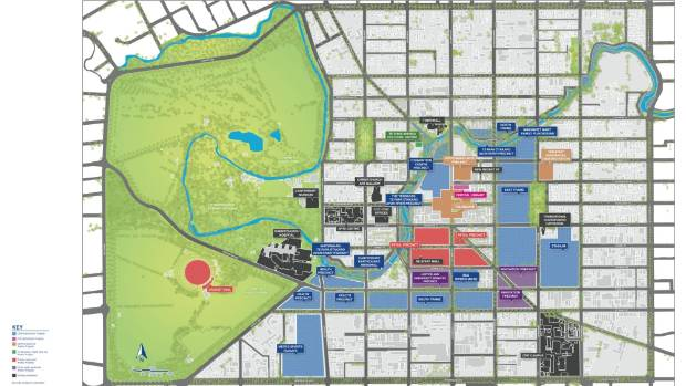 Christchurch's post-quake Blueprint identified anchor projects and precincts as well as reducing the city centre and ...