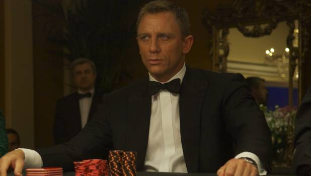 James Bond played a baccarat version preferred in France, known as chemin de fer.