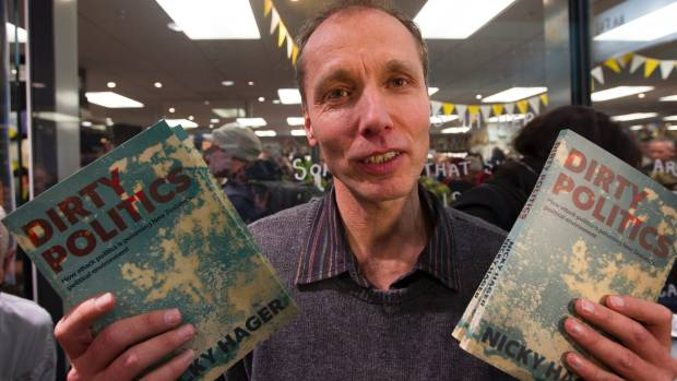 NICKY HAGER: Challenging police raid on his home and data.