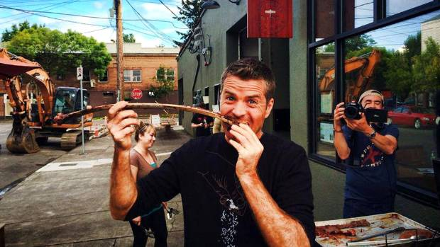 JURASSIC FAD: Chef Pete Evans is a fan of the paleo diet.