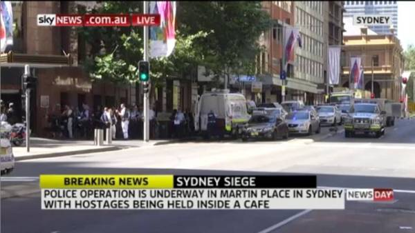 Siege at Sydney's Martin Place
