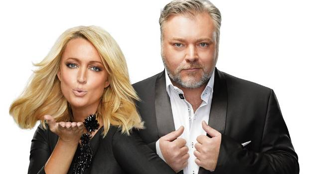 Jackie Henderson and Kyle Sandilands from the Sydney morning  breakfast show The Kyle and Jackie O Show.