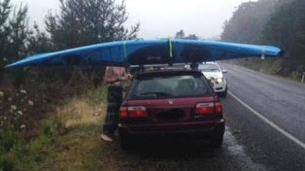 Police Red Faced Over Irish Kayak Blunder Stuff Co Nz