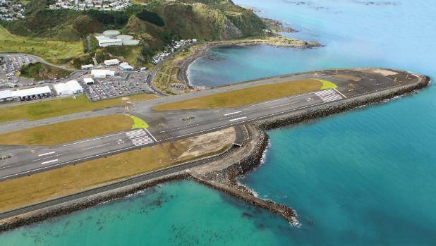 Wellington Airport's proposed runway extension would extend south into Lyall Bay, blocking the ocean views of the 19 ...