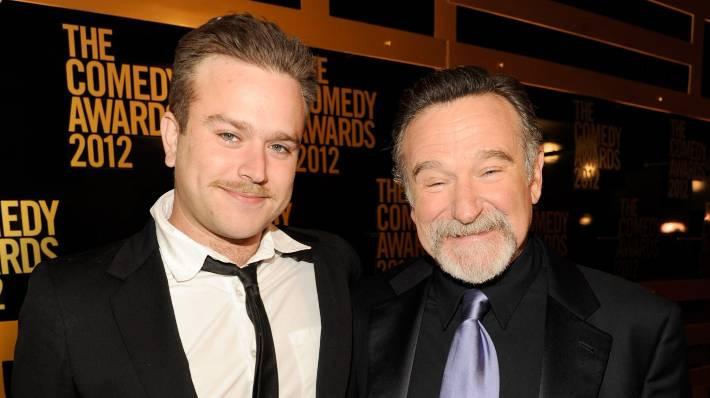 Zachary Williams 2012 Robin Williams' son sp...