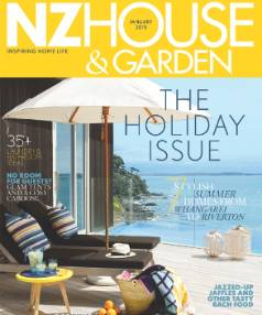 The January issue of NZ House & Garden is on sale from December 22.