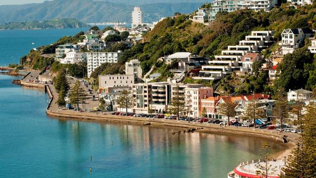 WELLY, YOU BEAUTY: Oriental Bay on a calm day.