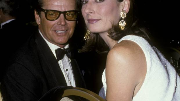 LOST LOVE: Jack Nicholson and Angelica Houston were a couple for 17 years.
