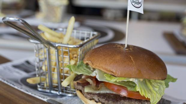 McDonald's New Zealand launched a gourmet burger service in 2015.