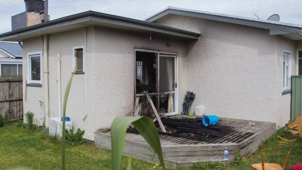 Christchurch house fire investigated for Grow landscapes christchurch