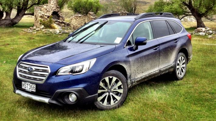 Subaru Outback is up front | Stuff co nz