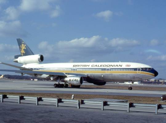 British Caledonian and famous golden lion logo was once the second largest airline in Britain until it was purchased by ...