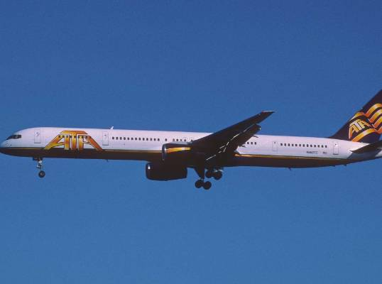 American Tans Air and its cool 'ATA' paint job flew to numerous locations around North and Central America. ...