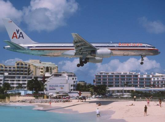 As for American Airlines itself, its shimmering unpainted airliners have become a common sight at airports around the ...