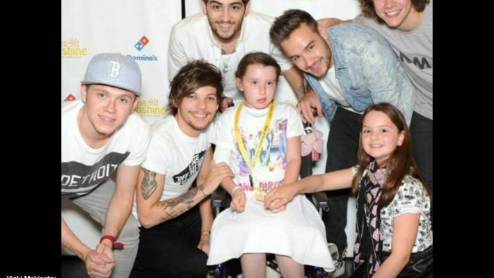 ed9343aa Super Fan Lily Got To Meet One Direction Before Her