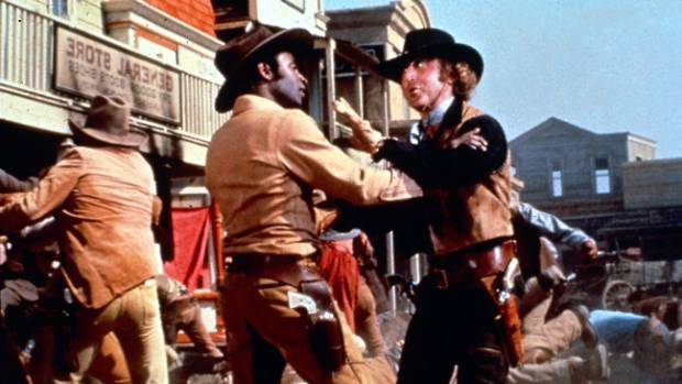 Brooks said classic film Blazing Saddles couldn't be made in today's climate.