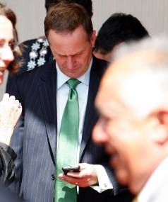 BURN AFTER READING: PM John Key is to be investigated over his practice of deleting text messages after reading them