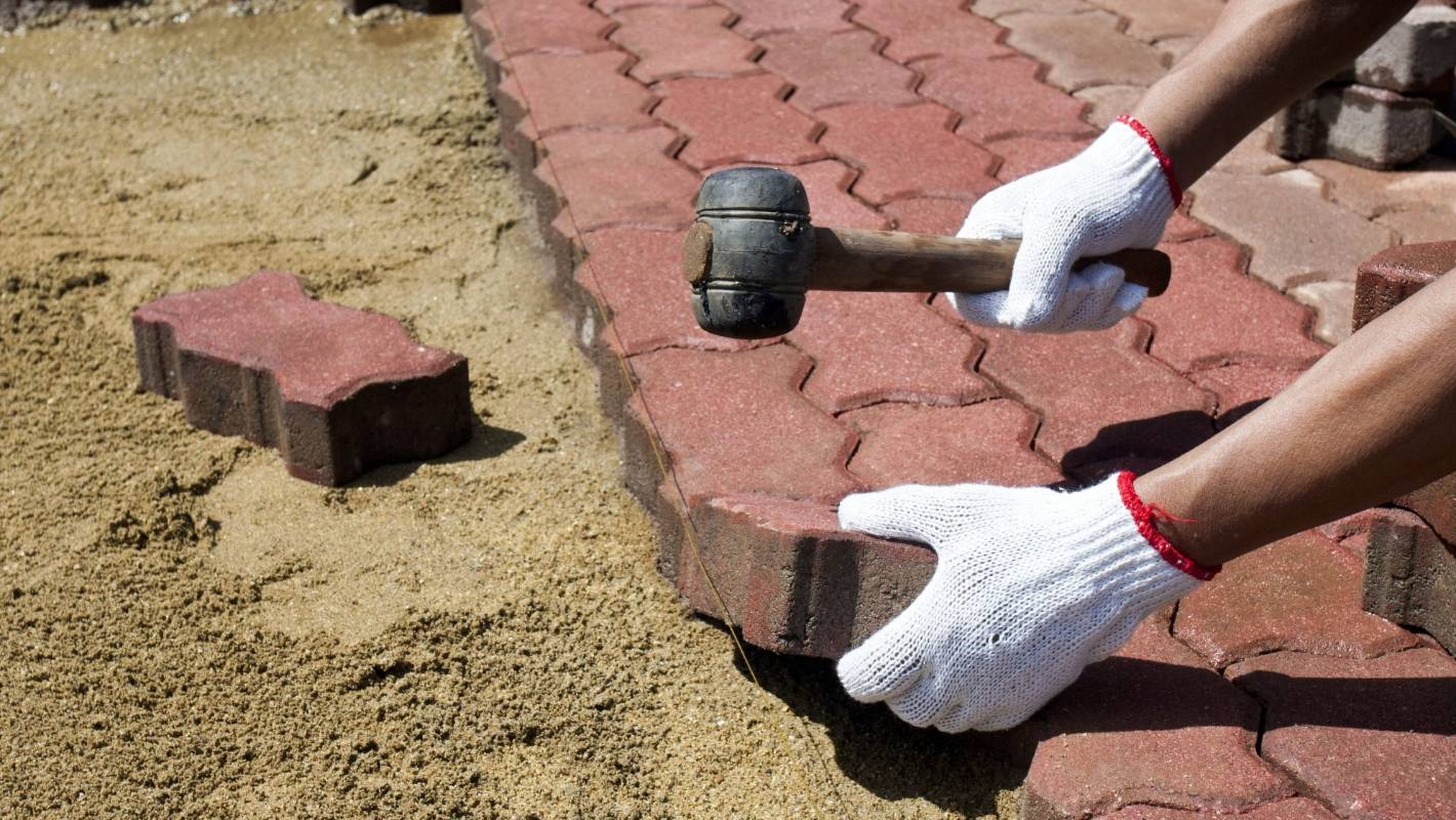 DIY pavers: How to lay them yourself | Stuff.co.nz