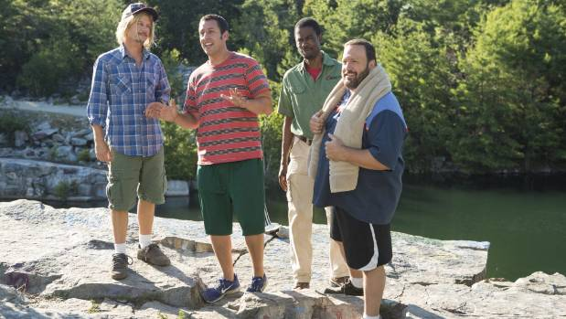 Someone in New Zealand watched Grown Ups 331 times this year