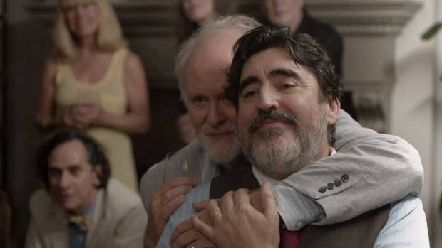 A WEE GEM: Alfred Molina and John Lithgow star in Love is Strange.