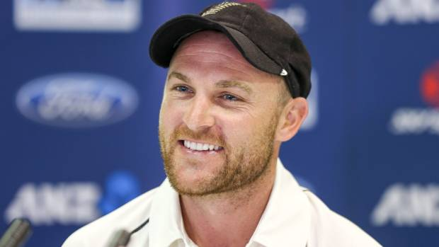 Brendon McCullum had plenty to smile about during the Black Caps' four day demolition of Sri Lanka in Christchurch.