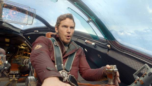 Texting during a Guardians of the Galaxy film? That's a hard no.