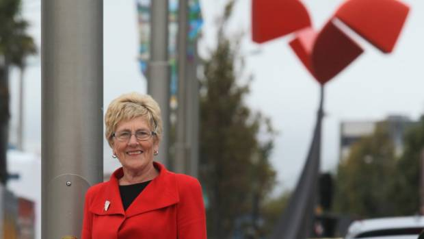 Double title:  Dame Adrienne Stewart wins a New Year honour for her business work and services to the arts. Her late ...
