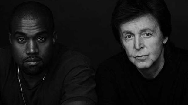 TEAMING UP Kanye West And Paul McCartney