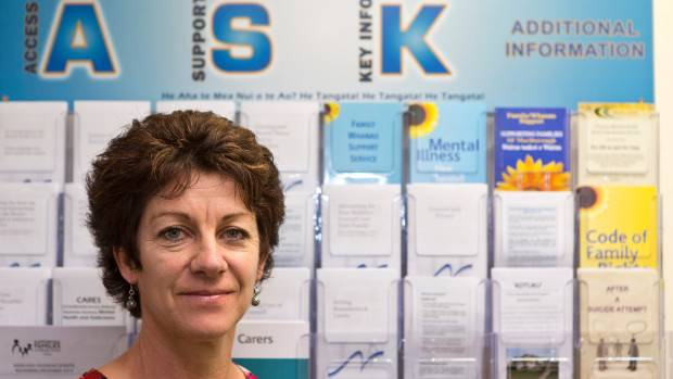 Susan O'Connell, manager of Supporting Families in Mental Illness, Nelson, says families need information and people who ...