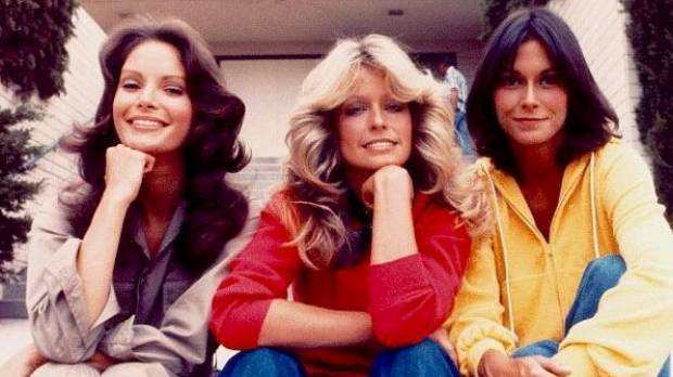 BIG HAIR: Charlie's Angels managed to carry out all sorts of missions without messing up their locks.