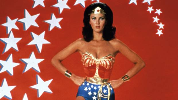 DISCO READY: Wonder Woman was perhaps the least sensibly clad heroine of all time.