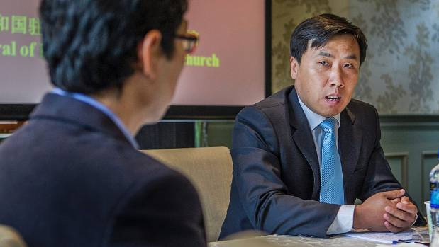 Christchurch-based Chinese Consul-General Jin Zhijian will visit Waimate today to strengthen ties between China and the ...